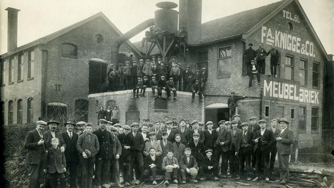 SHCW Knicos personeel fabriek 1930 hd