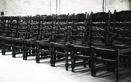 SHCW Knicos stoelen depot 1980